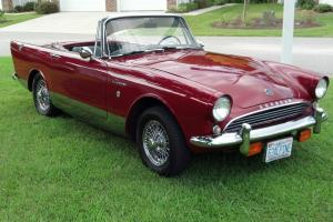 1963 SUNBEAM ALPINE SERIES 3 GARAGE KEPT SINCE NEW ABSOLUTE BEAUTY!
