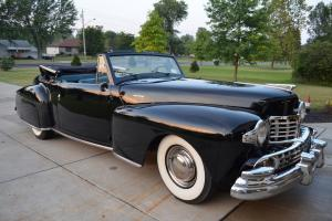 1947 Lincoln Continental convertable