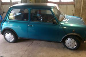 1996 ROVER MINI SIDEWALK KINGFISHER BLUE