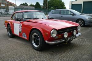 TRIUMPH TR6 MSA Logbooked Rally car  Photo