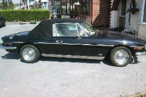 1978 TRIUMPH STAG BLACK  Photo