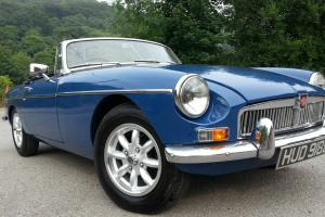 Stunning MG B Roadster, Modified engine, new hood, new minilites awesome MG
