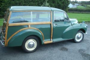 beautiful 1968 morris traveller