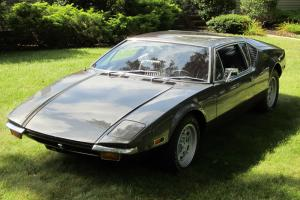 1971 De Tomaso Pantera  5 speed  V8 mid engine