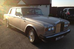 1978 ROLLS ROYCE SHADOW 11 2 GOLD/BEIGE PRIVATE PLATE  Photo