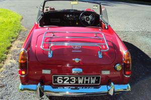 MG MIDGET 1964 MK2 RED, CLASSIC CAR, NICELY RESTORED AND A REAL EYE CATCHER  Photo