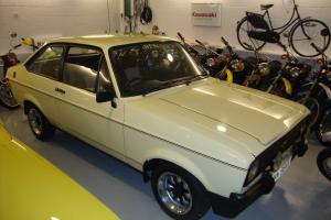 1980 MK2 FORD ESCORT 1600 SPORT with an RS SHELL.