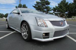 2012 Cadillac CTS V Coupe 2-Door 6.2L, One Owner, Only 1,900 Miles