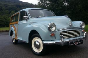 Morris Traveller, Fully restored by enthusiast,new wood,very clean car all round