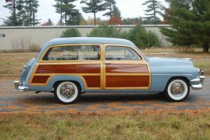 1951 Mercury Woody Station Wagon, Reserve Lowered
