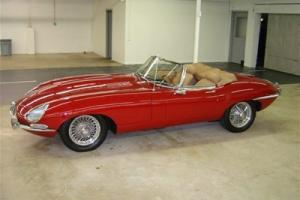 67 4.2 Liter Carmen Red/Tan Soft top 4 spd Series 1 Photo