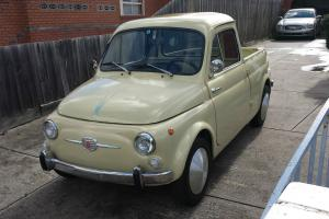 1962 Fiat 500 Gardiniera UTE Pick UP Abarth in Melbourne, VIC