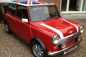 1994 ROVER MINI COOPER 1.3I RED/WHITE  Photo