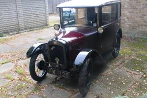 Very Original Austin Seven 7 Fabric Saloon 1928