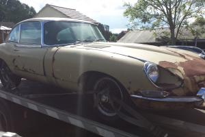 Jaguar E Type for restoration