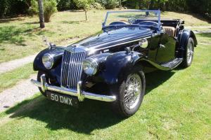 RARE RHD 1955 MG TF 1500