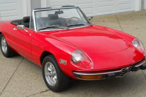 1973 Alfa Romeo with highly desireable chrome bumpers - FANTASTIC CONDITION