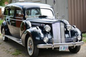 1939 Packard Henney Hearse, rear loader Model 1701-A
