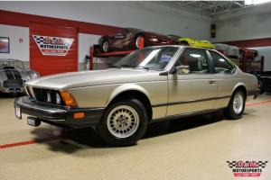 1984 BMW 633 CSi 1OWNER 22,425 MILES 5 SPEED ALL ORIGINAL BEST ONE AVAILABLE