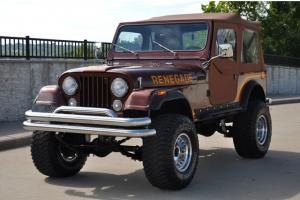 1984 Jeep CJ 7 Renegade Lifted on 33 inch rubber