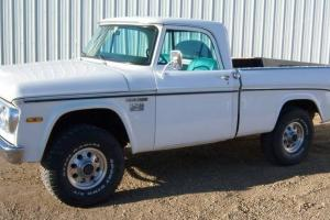 Other Makes : Fargo W100 Power Wagon 4X4 Custom Cab