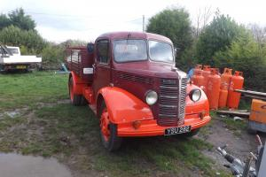 vintage bedford k type tipper lorry