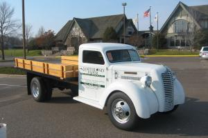 1938 Diamond T Flatbed Truck Street Rod Photo