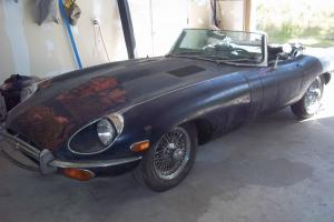 Original Unmolested Jaguar Etype Roadster Photo