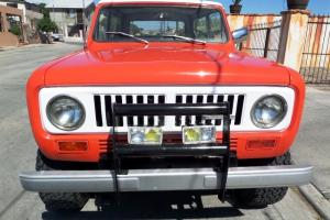 1973 INTERNATIONAL HARVESTER SCOUT II  4X4, LOADED CALIFORNIA RUST FREE!