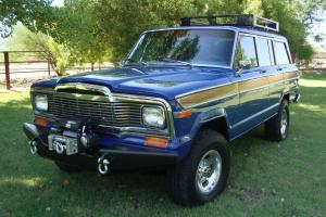 1979 Jeep Wagoneer, Rare restored, CJ, willys Amazing condition, 102k original