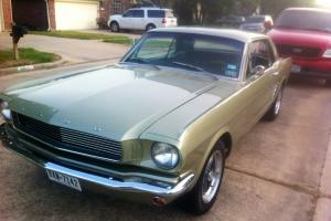 1966 Ford Mustang - Lime Gold - Fully Restored
