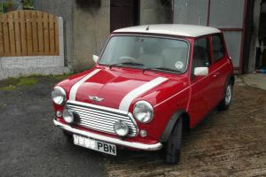Red Mini Cooper W reg 2000 Mint condition