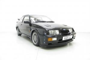 The Definitive Ford Sierra RS500 Cosworth with Just One Owner and 44,190 Miles.  Photo