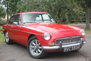 1969 MGC GT Coupe - Sympathetic Performace Enhancements