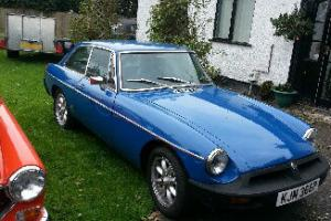 MG B GT1975 SUPERB