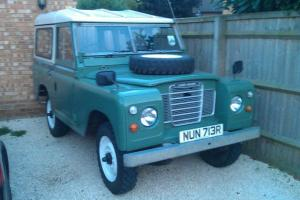 1977 LAND ROVER SERIES 3 88 2.25 MANUAL