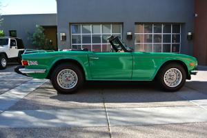 1976 Triumph TR6 Roadster, 24k Original Miles, Original Paint, Original Top Photo