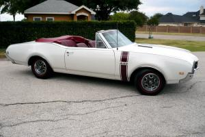 1968 Oldsmobile 442 convertible, frame off restoration, protecto-plate, perfect