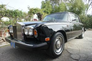 ROLLS ROYCE SILVER SHADOW 1980 VERY RARE CALIFORNIA ONLY FUEL INJECTION Photo