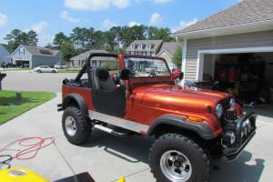 1985 Jeep AMC CJ7 NO RESERVE PRICE!!! See YouTube Video for Viewing