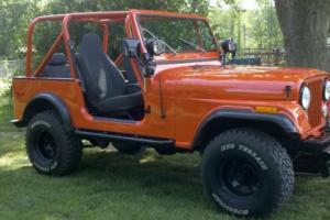 1980 Jeep CJ7 Base Sport Utility 2-Door 5.0L 305 small block chevy