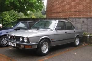 bmw 525, stunning condition
