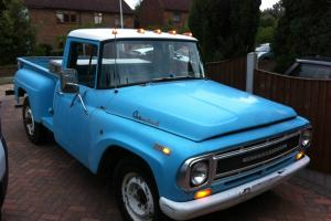 1968 INTERNATIONAL HARVESTER STEPSIDE TRUCK