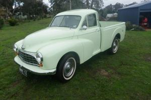 1954 MORRIS OXFORD UTILITY FULLY RESTORED TO ORIGINAL SPECIFICATIONS
