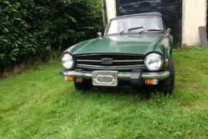 TRIUMPH TR6 left hand drive import,  Photo