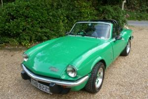 1977 TRIUMPH SPITFIRE 1500 GREEN  Photo