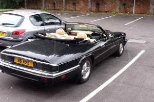 1994 JAGUAR XJ-S V12 AUTO BLACK JAGUAR XJS CONVERTIBLE RARE 6.0L MODEL