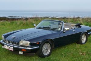 1989 JAGUAR XJ-S V12 CONVERTIBLE AUTO BLUE  Photo