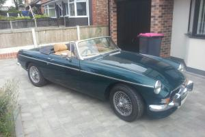 MGB Roadster, Chrome Bumper 1973. Fully Restored