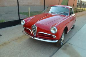1957 Alfa Romeo Giulietta Sprint Small Headlamps